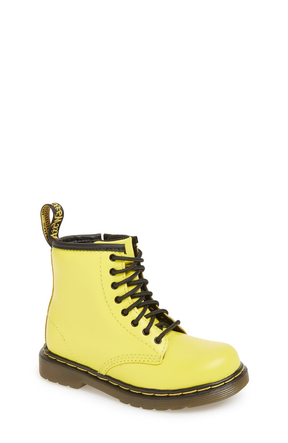 Alternate Image 1 Selected - Dr. Martens 'Brooklee' Leather Boot (Walker & Toddler)