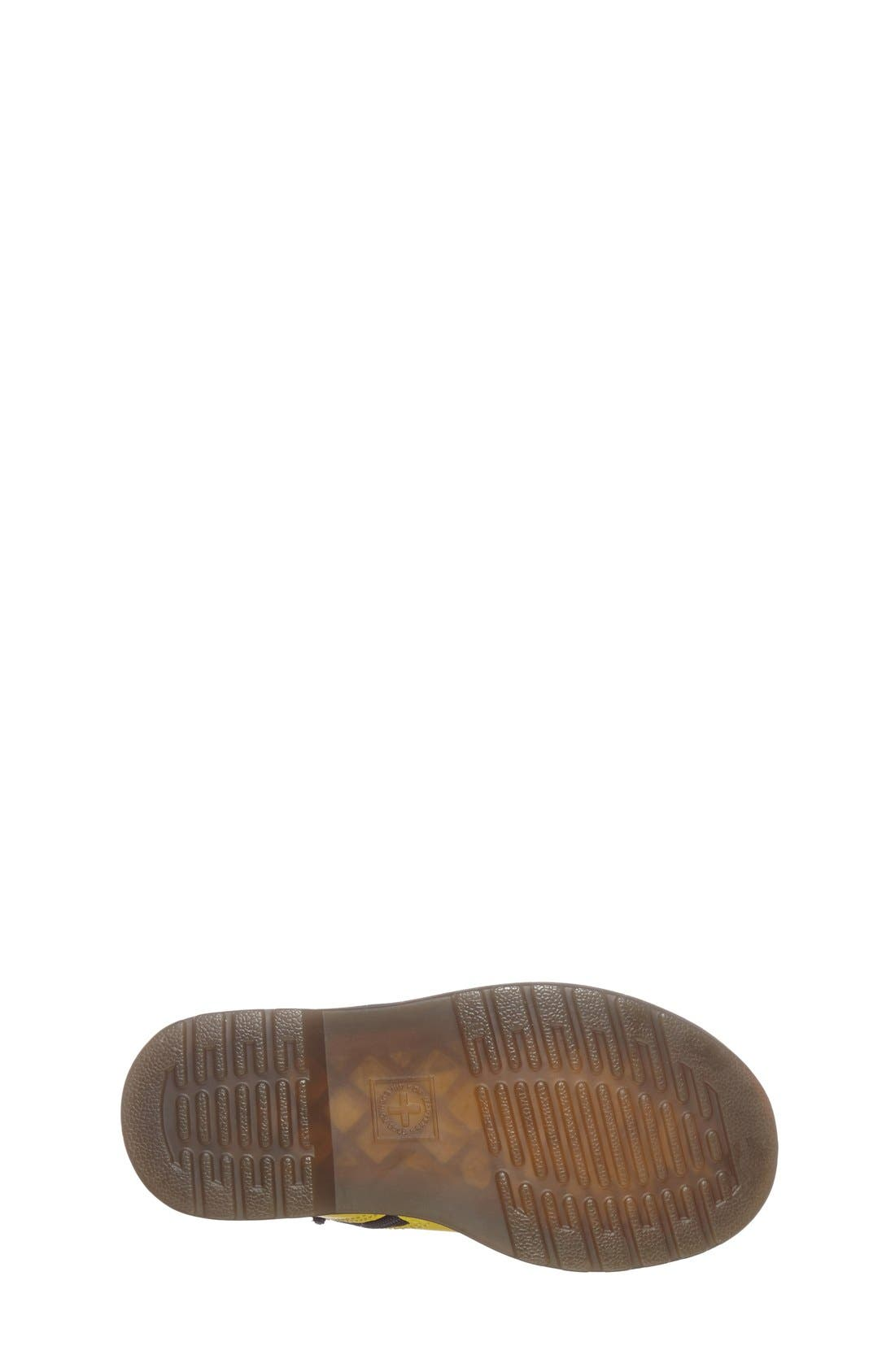 Alternate Image 2  - Dr. Martens 'Brooklee' Leather Boot (Walker & Toddler)