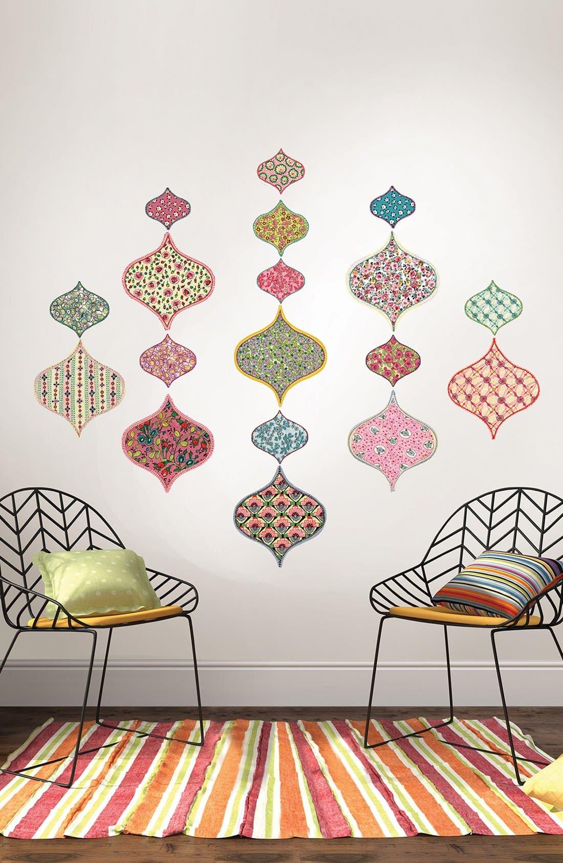 Alternate Image 2  - Wallpops 'Boho Chic' Wall Art Decal Kit (Set of 18)