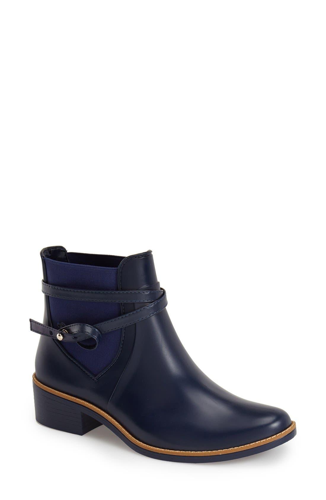 Alternate Image 1 Selected - Bernardo Peony Short Waterproof Rain Boot (Women)