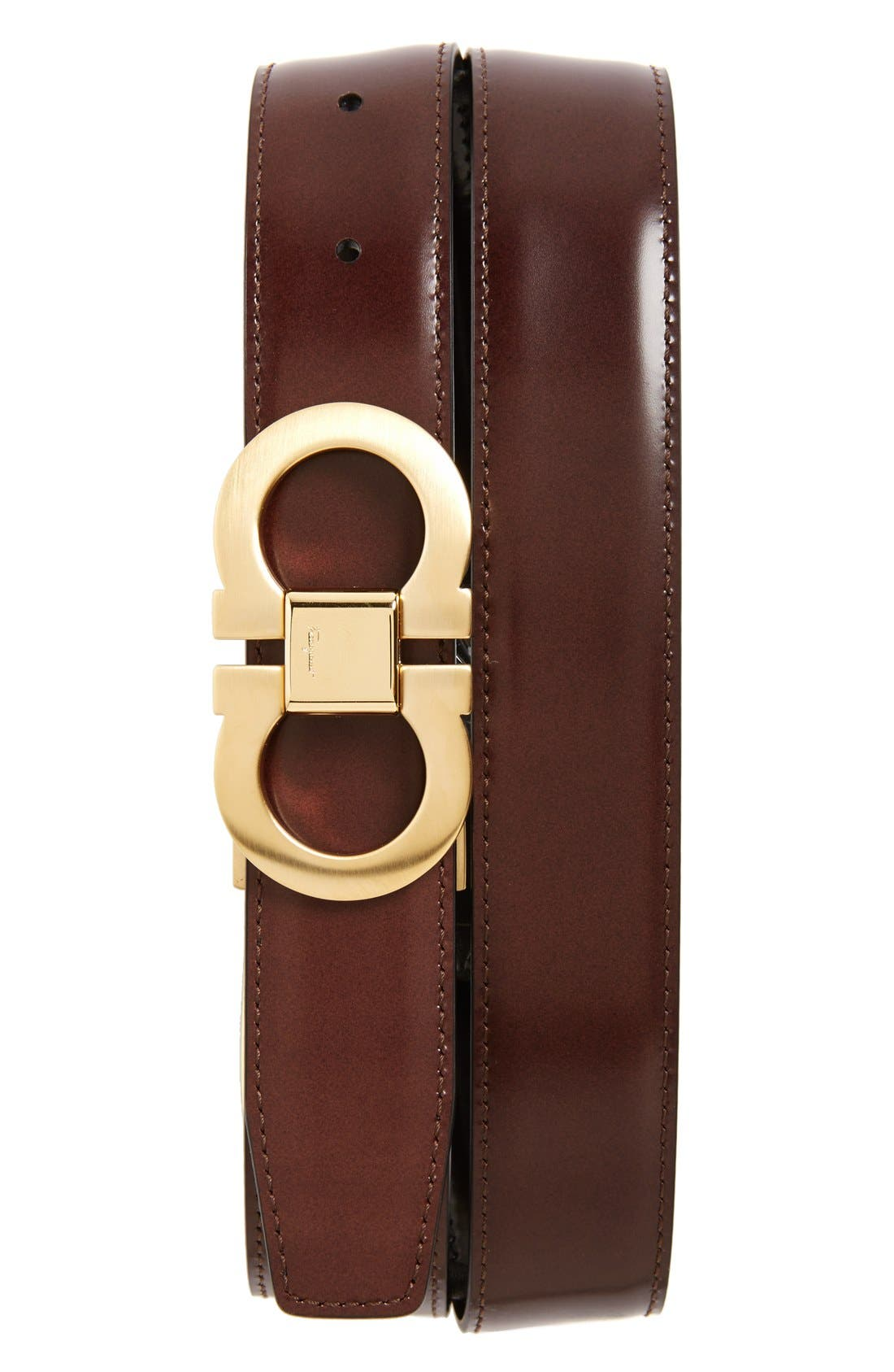 Alternate Image 1 Selected - Salvatore Ferragamo Reversible Belt