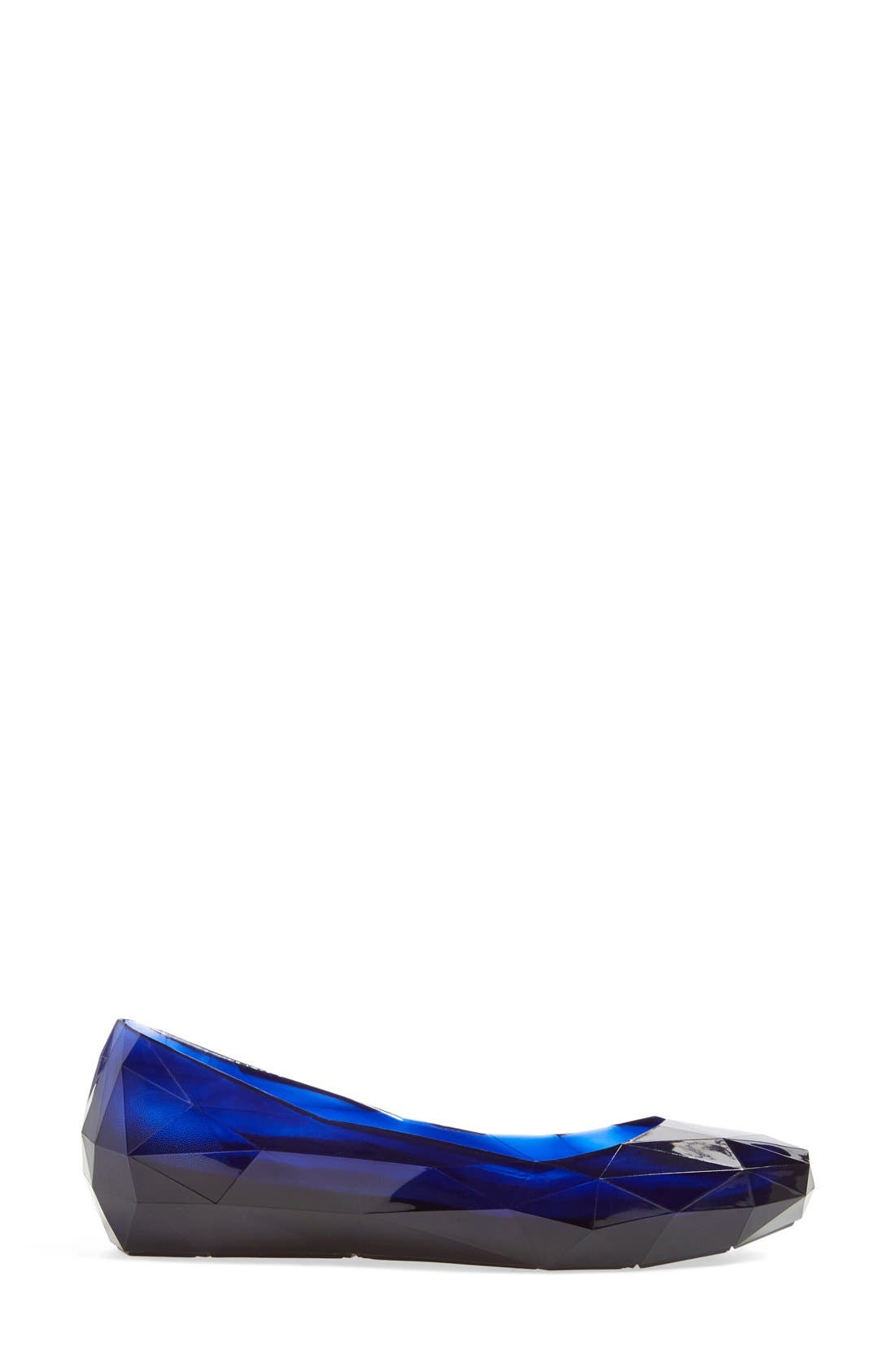 Alternate Image 4  - United Nude Collection 'Lo Res' Skimmer Flat (Women)