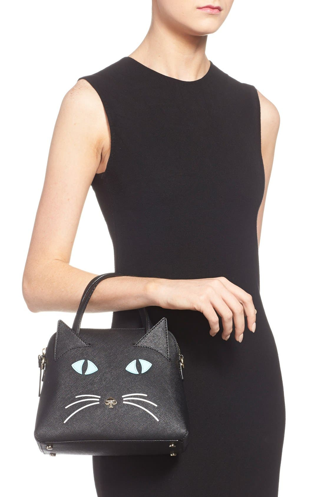 Alternate Image 2  - kate spade new york 'cat's meow - small maise' satchel