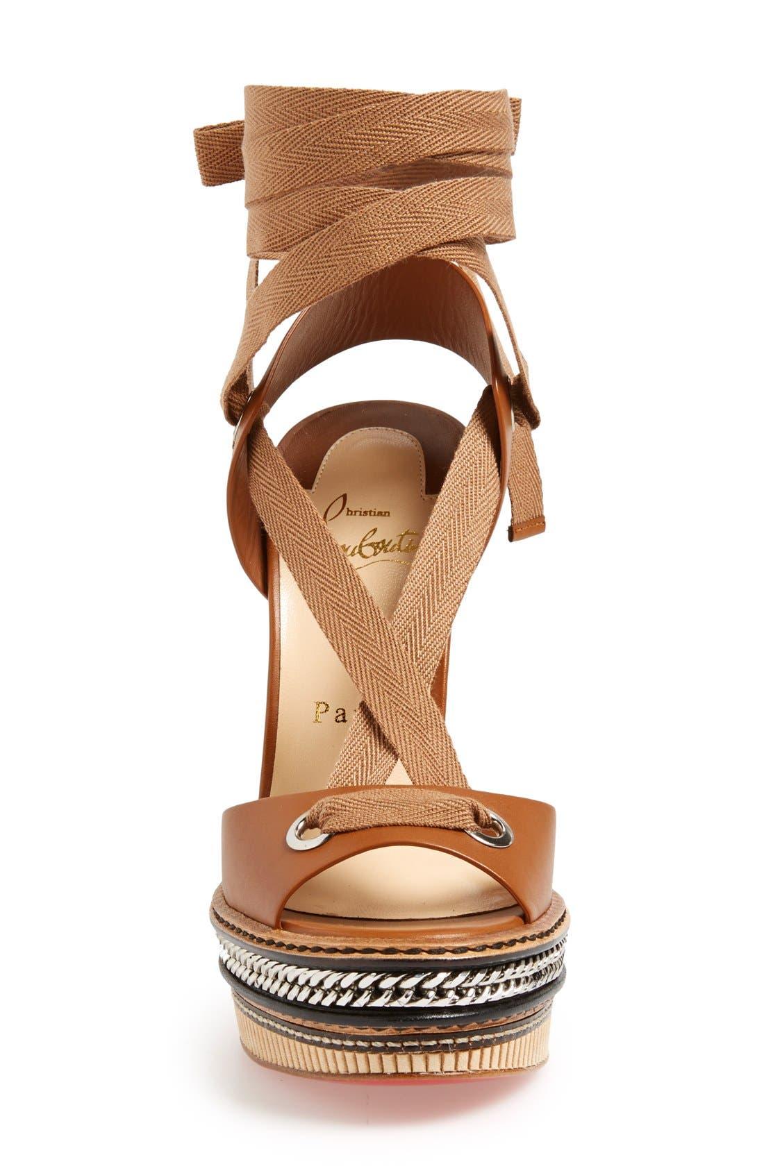 Alternate Image 3  - Christian Louboutin 'Tribuli' Wedge Sandal