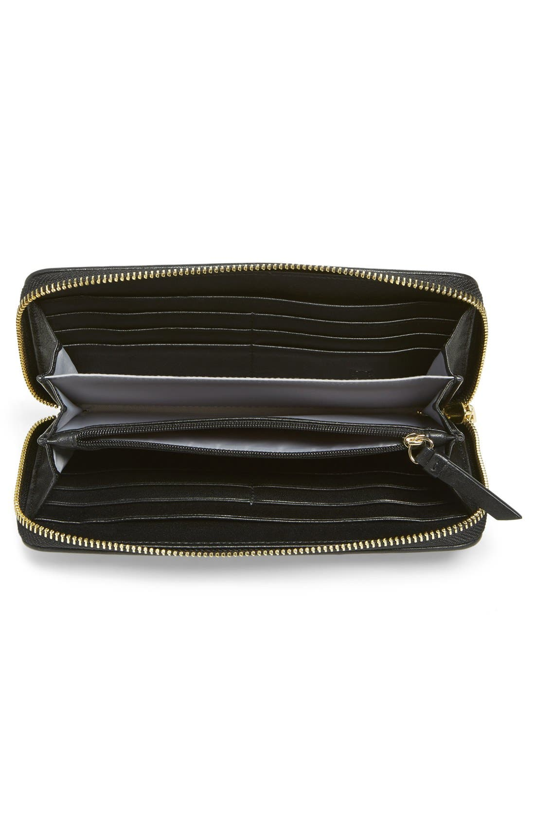Alternate Image 4  - Ivanka Trump 'Bedminster' Leather Clutch