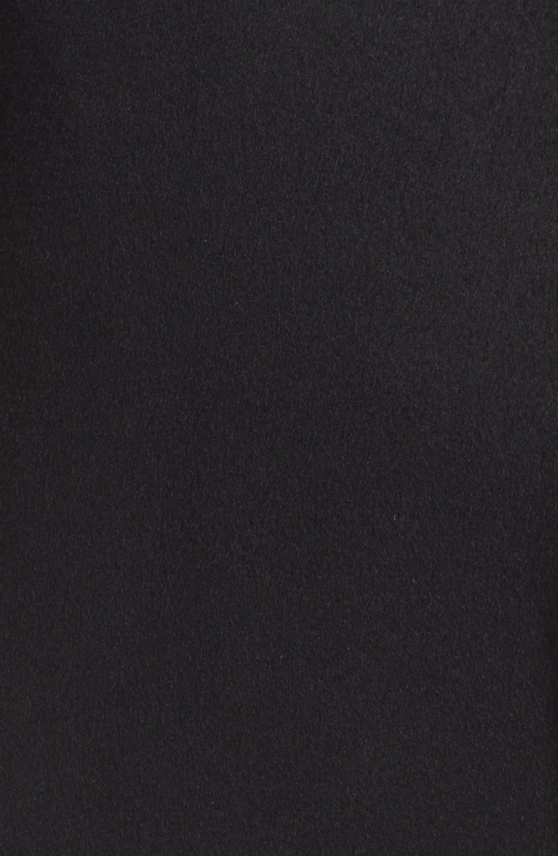 Alternate Image 6  - Soia & Kyo 'Arya' Hooded Wool Blend Coat with Belt