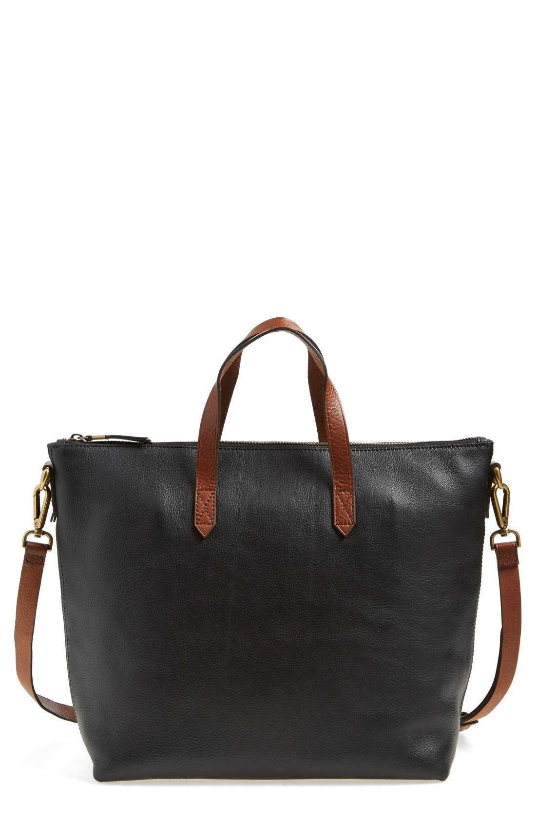 Madewell Leather Transport Satchel