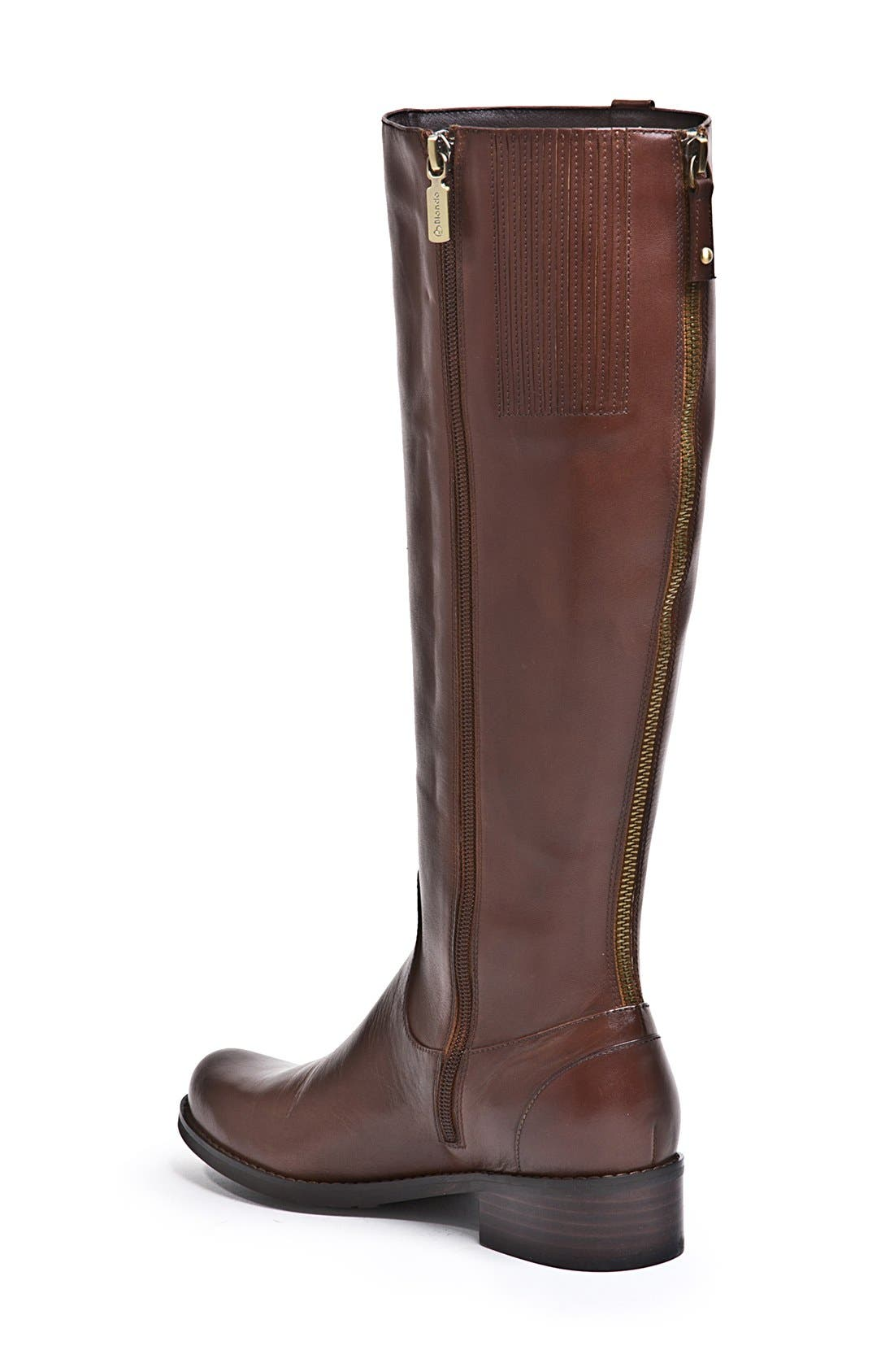 Alternate Image 2  - Blondo 'Victorina' Waterproof Leather Riding Boot (Women)