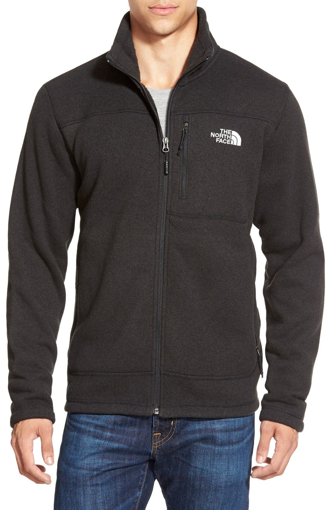 Alternate Image 1 Selected - The North Face 'Gordon Lyons' Zip Fleece Jacket