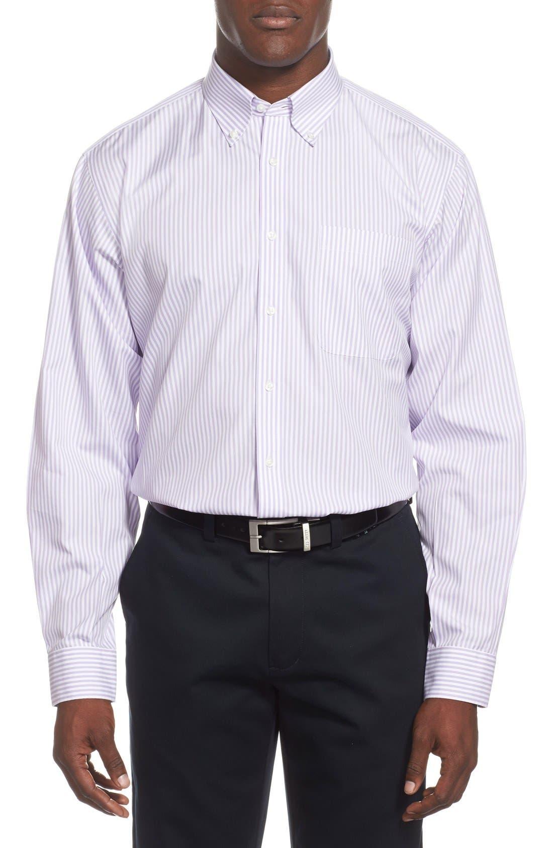 Alternate Image 2  - Nordstrom Men's Shop Smartcare™ Classic Fit Stripe Dress Shirt (Online Only)