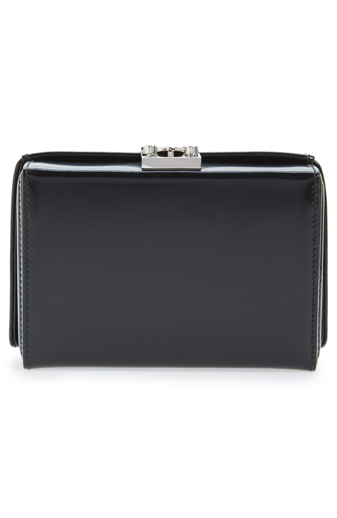 Alternate Image 3  - Mark Cross 'Grace' Spazzolato Leather Clutch