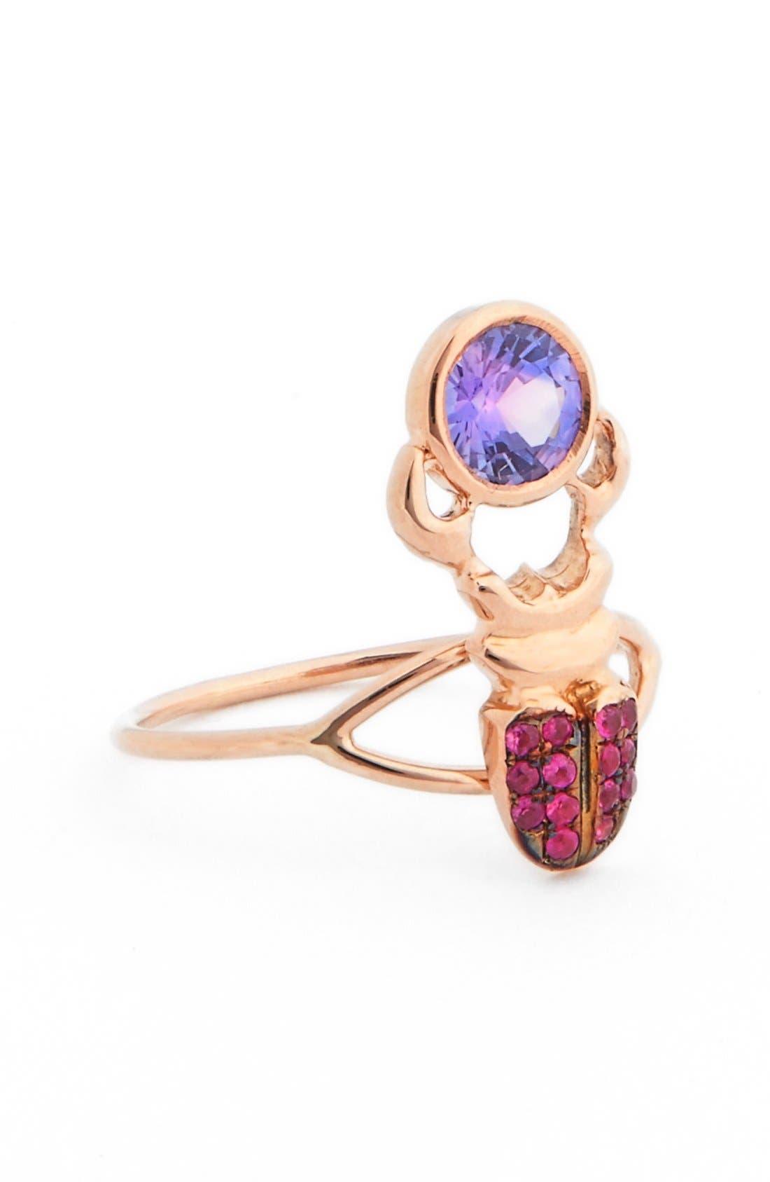 DANIELA VILLEGAS 'Khepri' Sapphire Ring