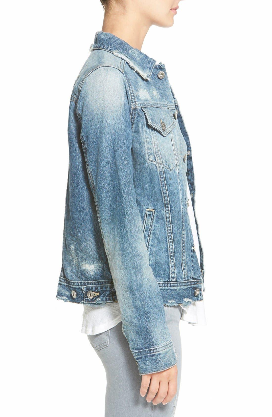 Alternate Image 3  - AG 'Mya' Denim Jacket