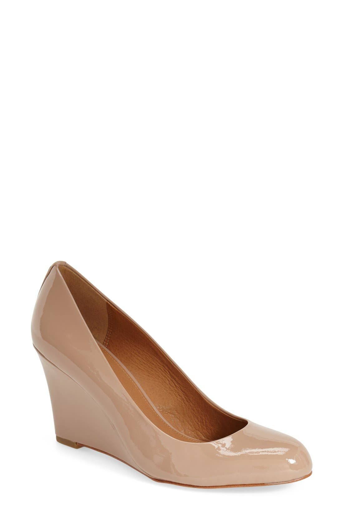 Alternate Image 1 Selected - COACH 'Rileigh' Wedge Pump (Women)