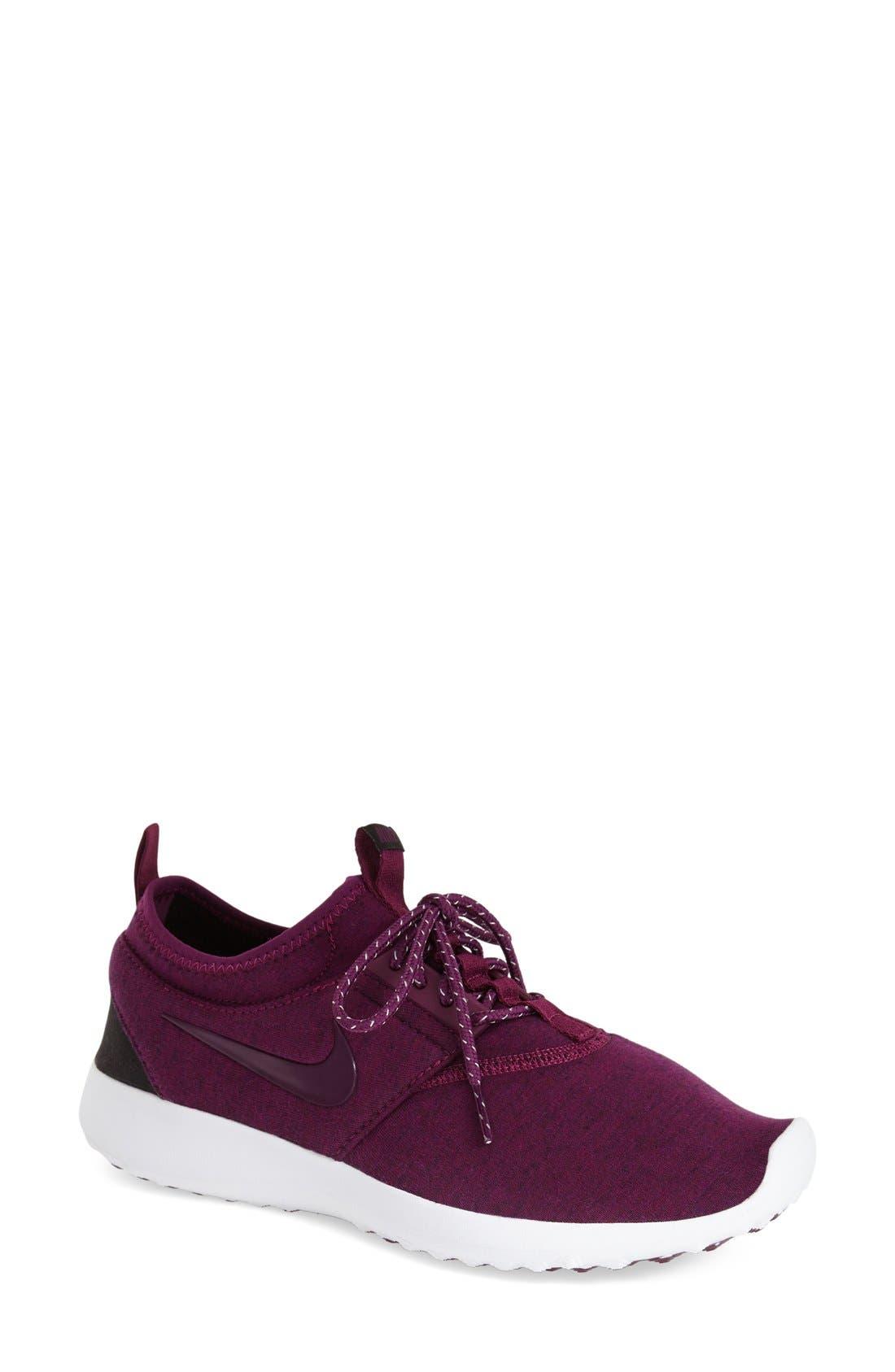 Alternate Image 1 Selected - Nike 'Juvenate Fleece' Sneaker (Women)