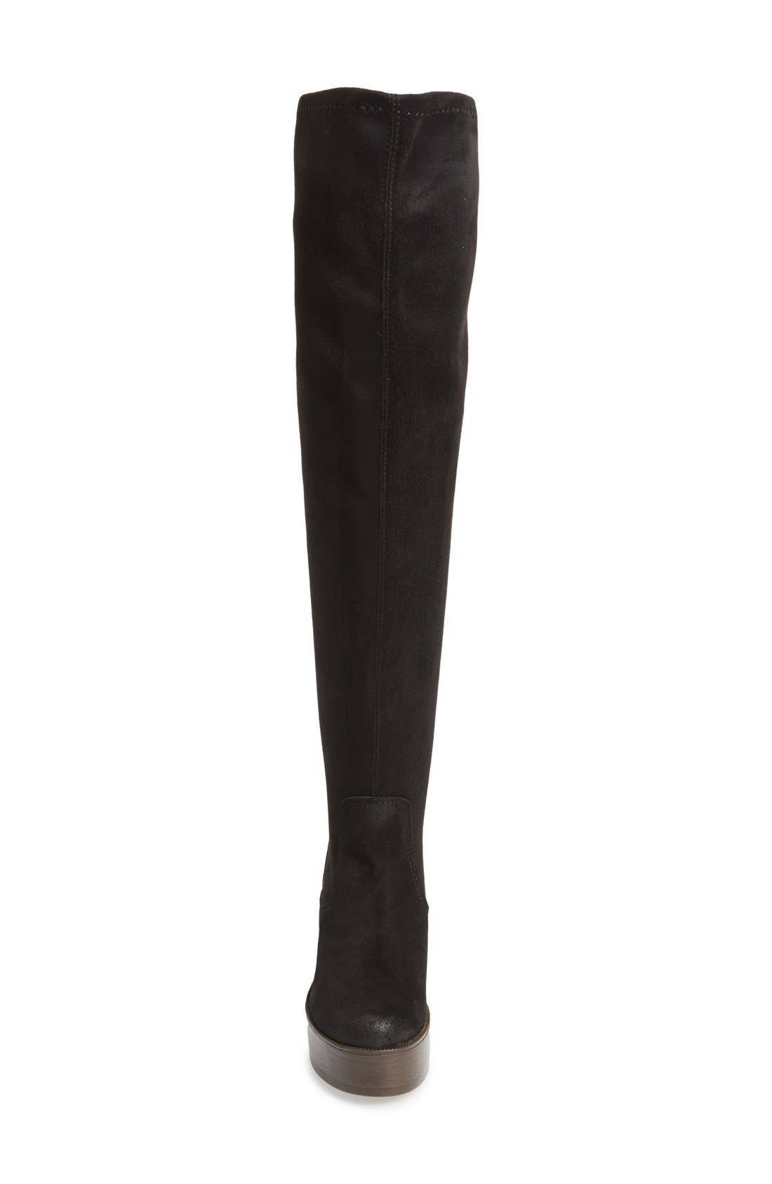 Alternate Image 4  - Topshop 'Buddy '70s' Over the Knee Boot (Women)