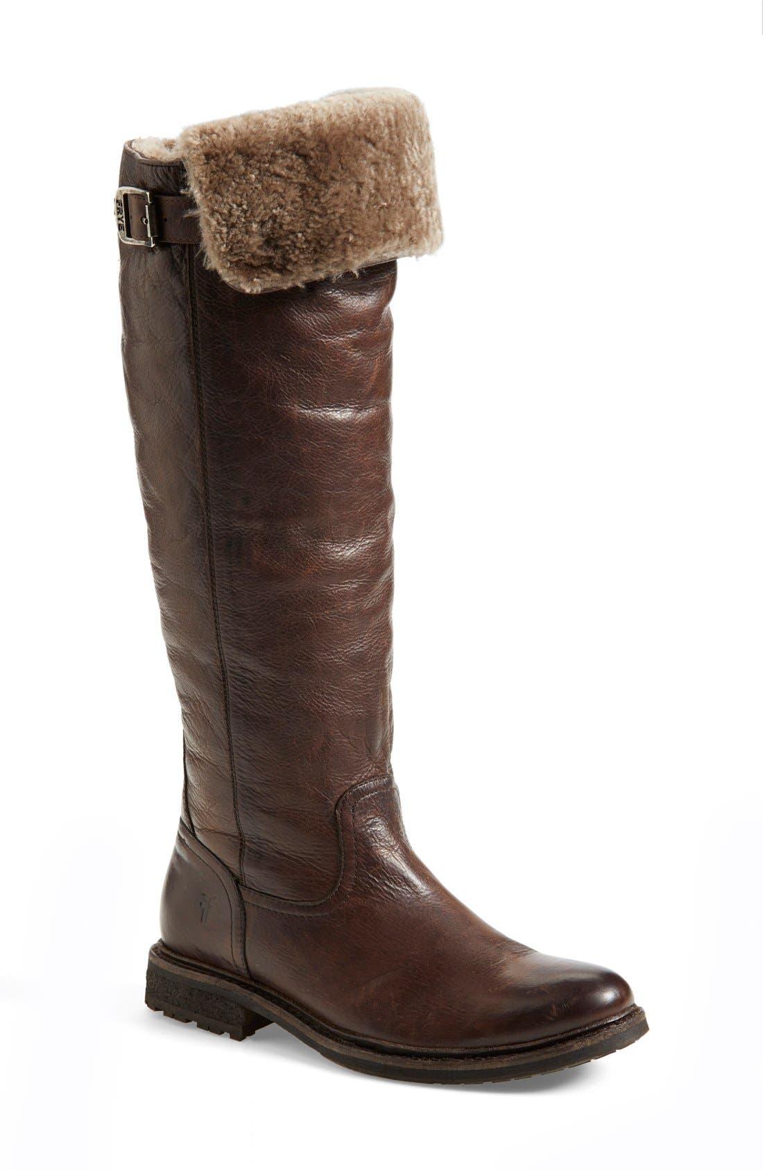 Main Image - Frye 'Mara Button' Boot (Women)