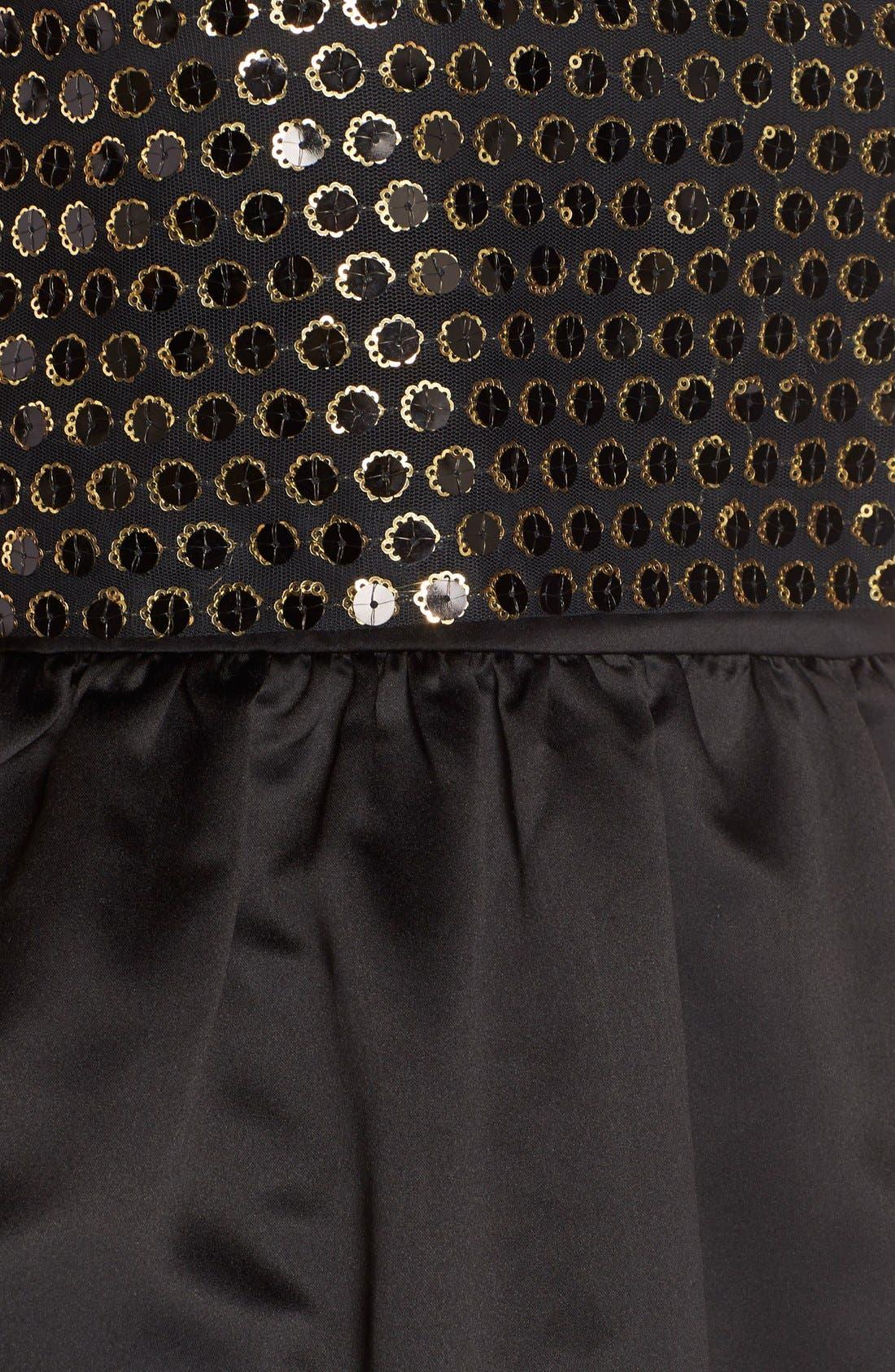 Alternate Image 5  - CeCe by Cynthia Steffe 'Sandy' Sequin Popover Dress