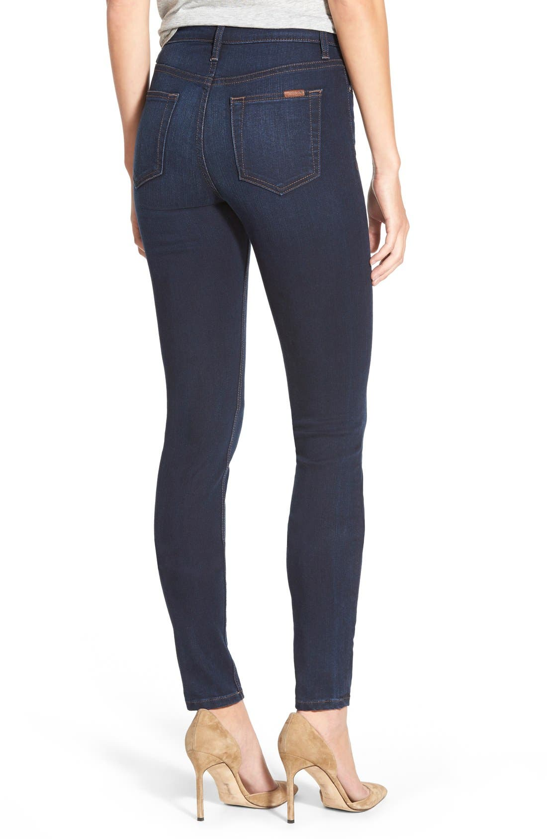 Alternate Image 2  - Joe's 'Flawless -Charlie' High Rise Skinny Jeans (Cecily)
