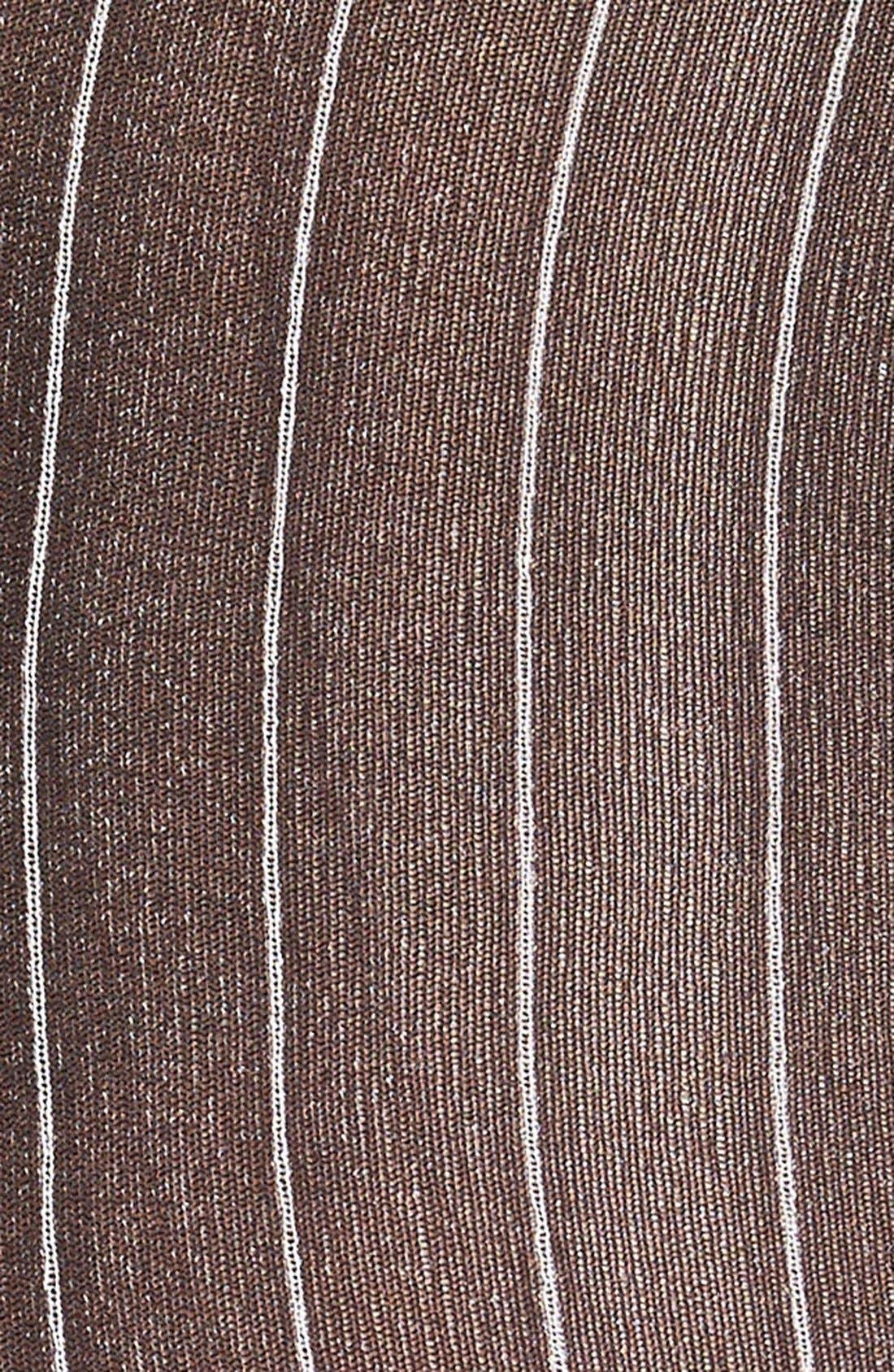 Alternate Image 2  - Oroblu Pinstripe Tights