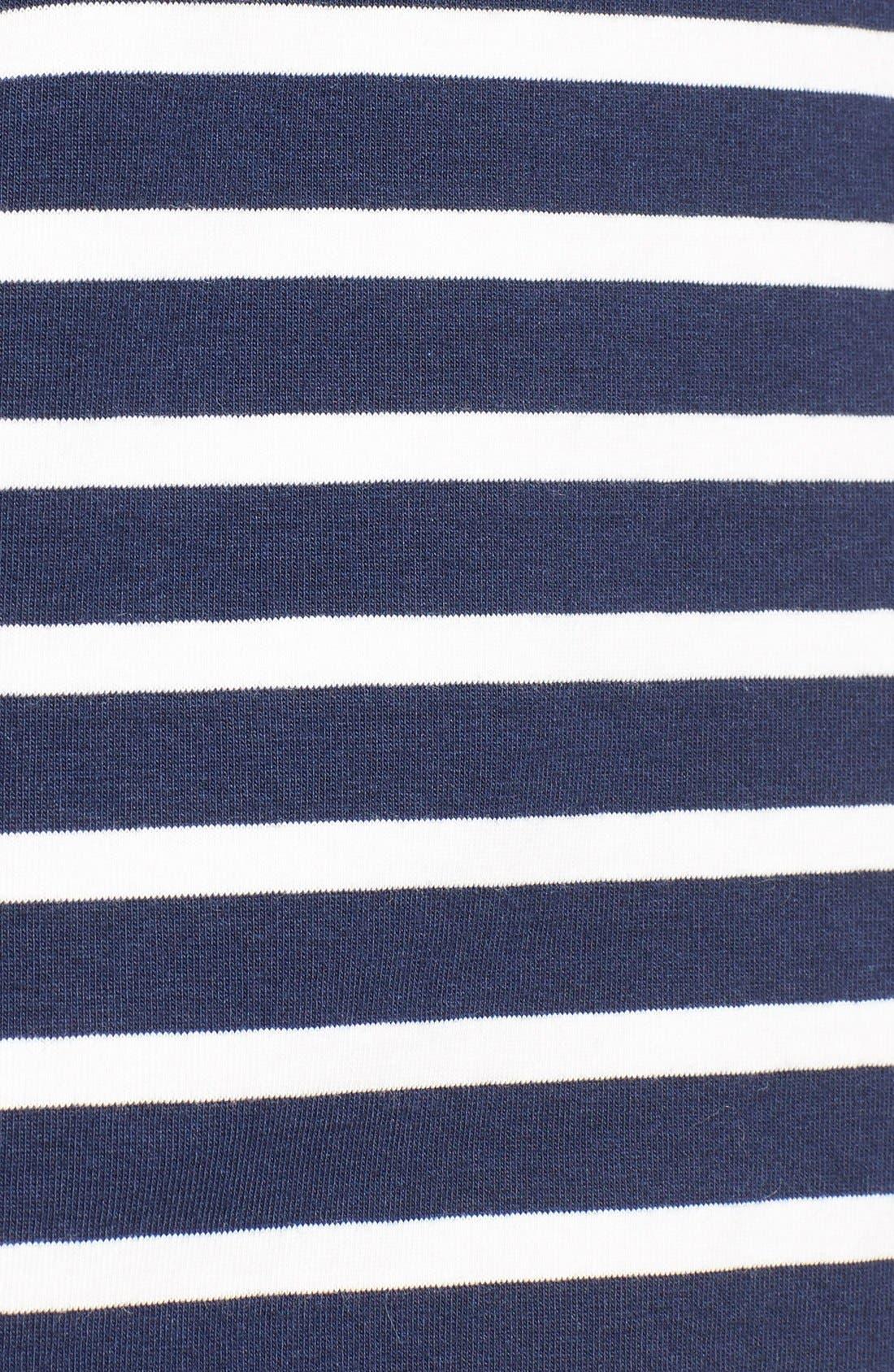 Alternate Image 5  - Vineyard Vines Stripe Long Sleeve Knit Tee