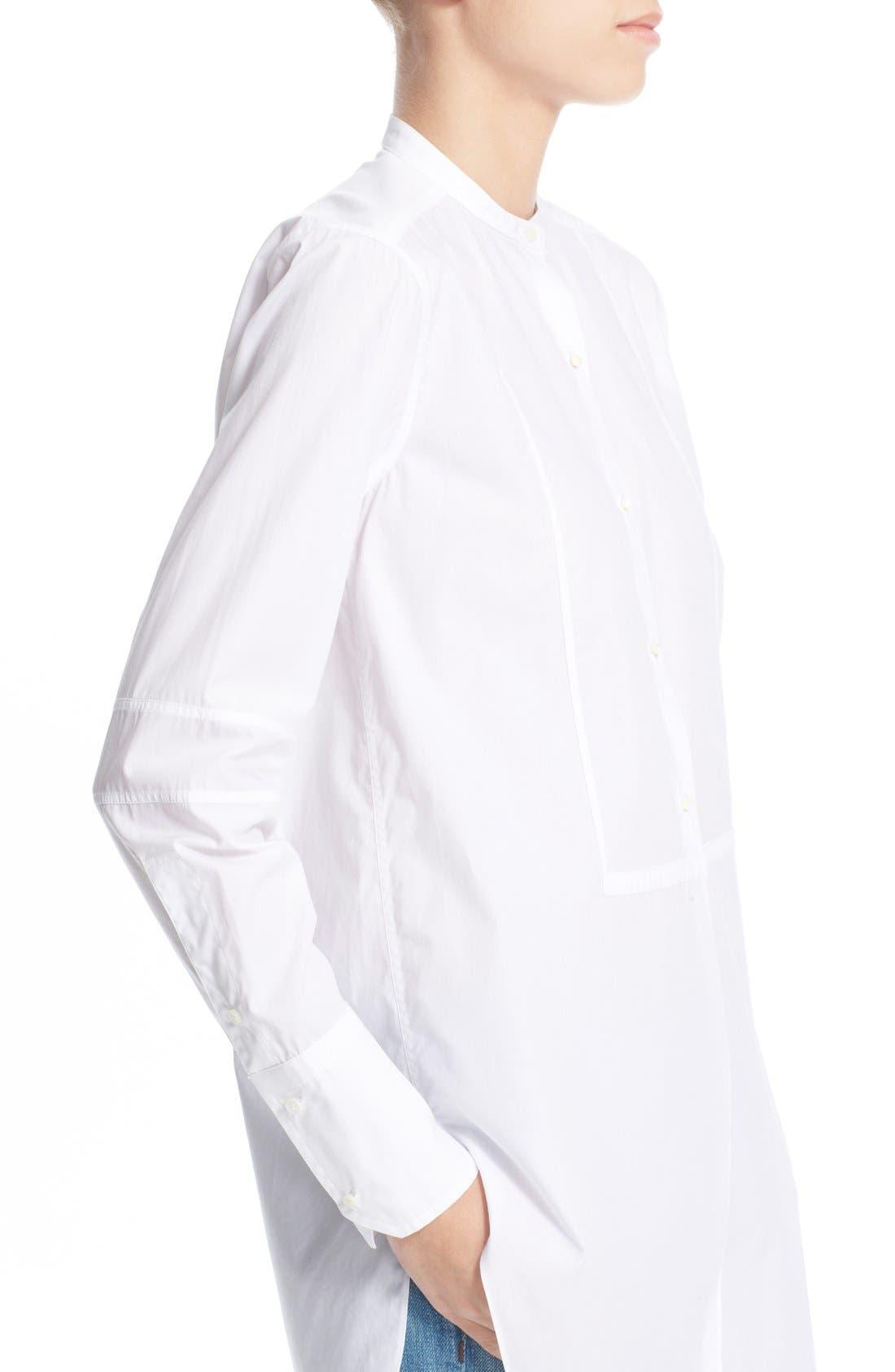 Alternate Image 4  - HelmutLang Poplin Tuxedo Shirt