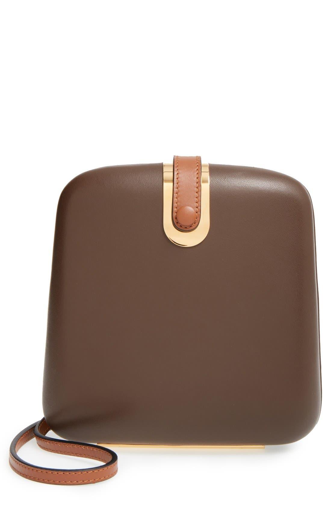 Main Image - Marni'Hard Box' Convertible Clutch