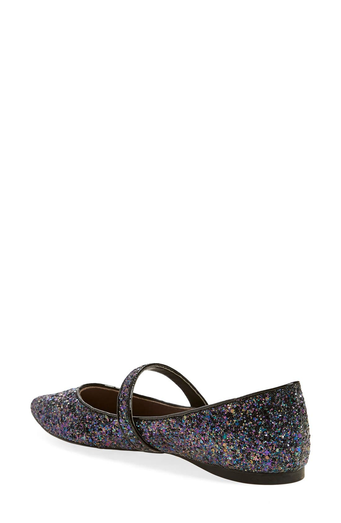 Alternate Image 2  - BP. 'Maribel' Mary Jane Glitter Flat (Women)