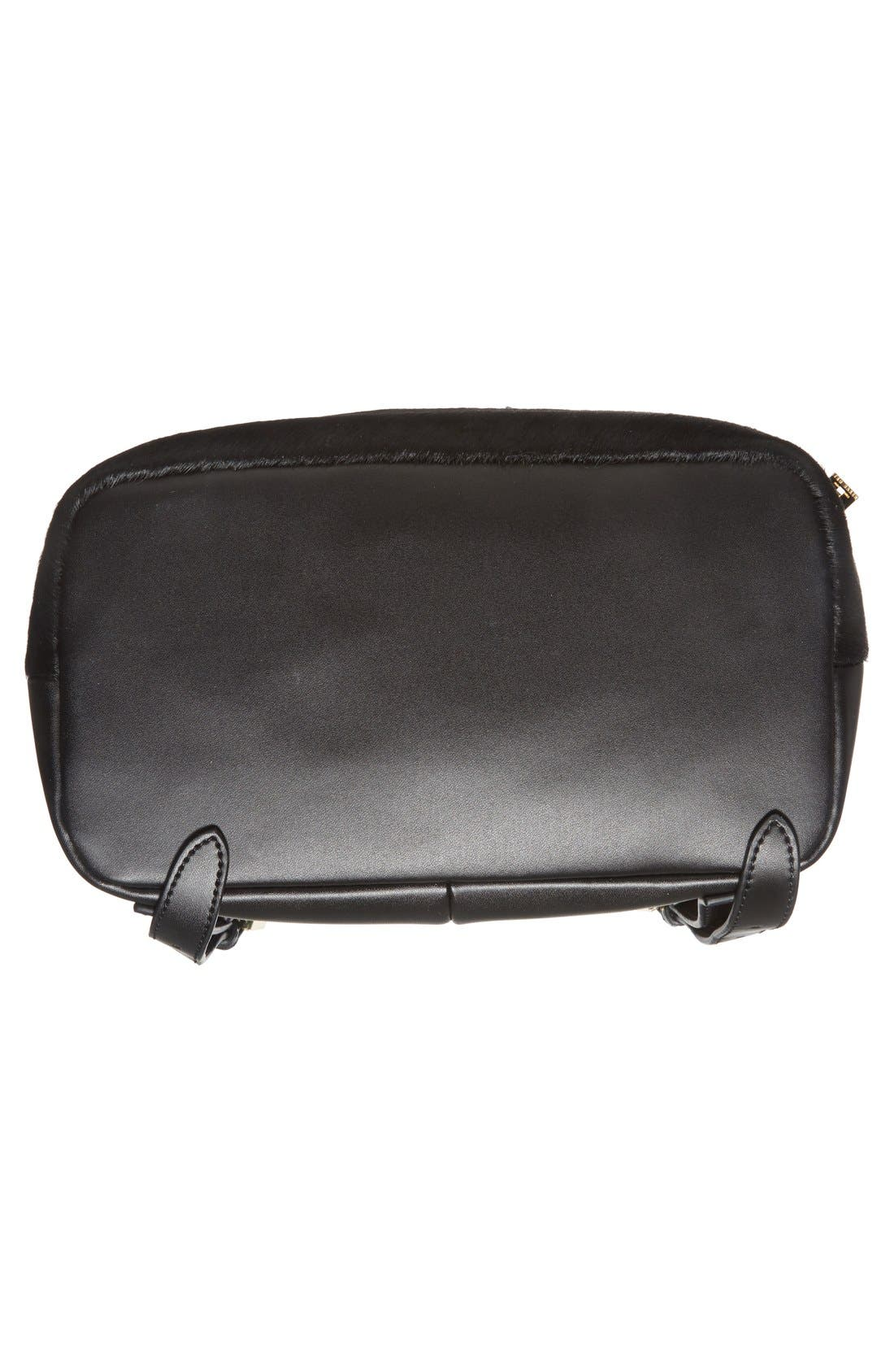 Alternate Image 6  - Ted Baker London Genuine Calf Hair & Leather Backpack
