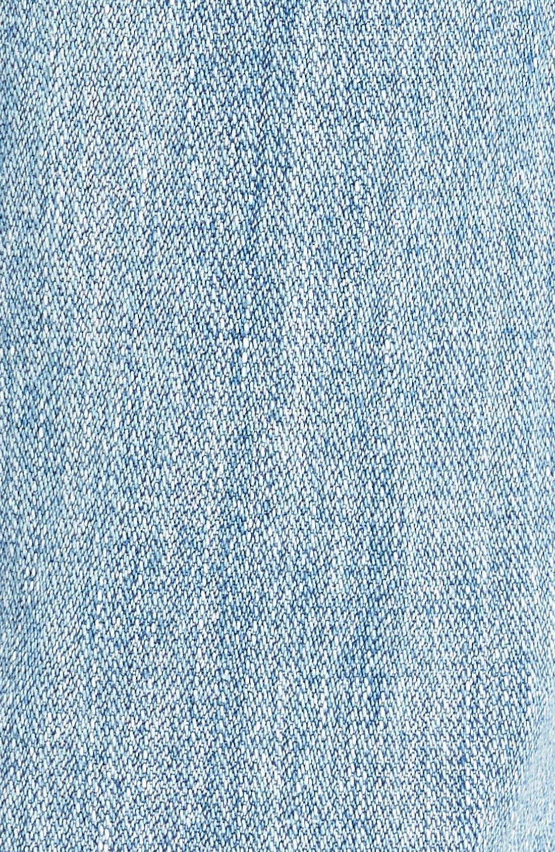 Alternate Image 5  - One Teaspoon 'Awesome Baggies' CropBoyfriend Jeans