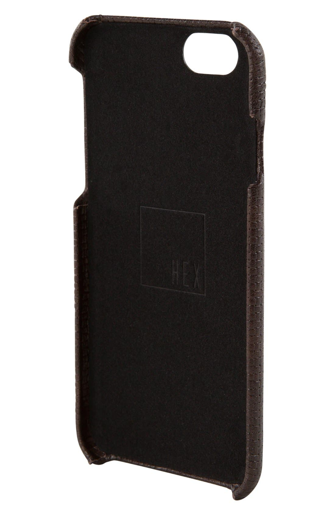 Alternate Image 3  - HEX Solo iPhone 6/6s Wallet Case