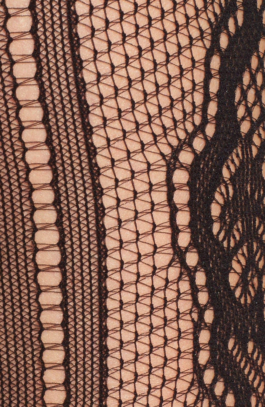Alternate Image 2  - Commando 'Deco' Fishnet Tights