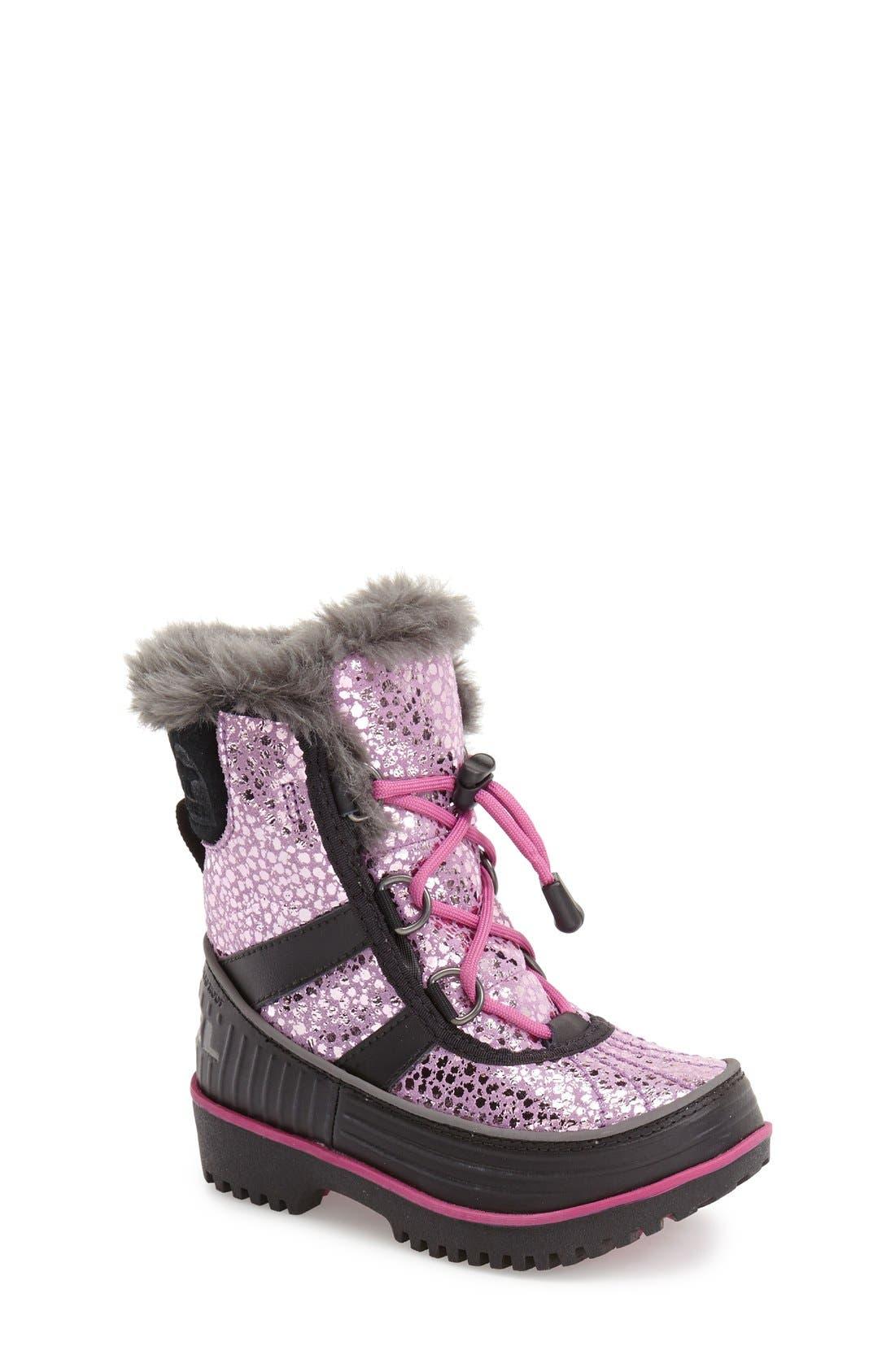 Alternate Image 1 Selected - SOREL 'Tivoli II' Waterproof Snow Boot (Toddler & Little Kid)