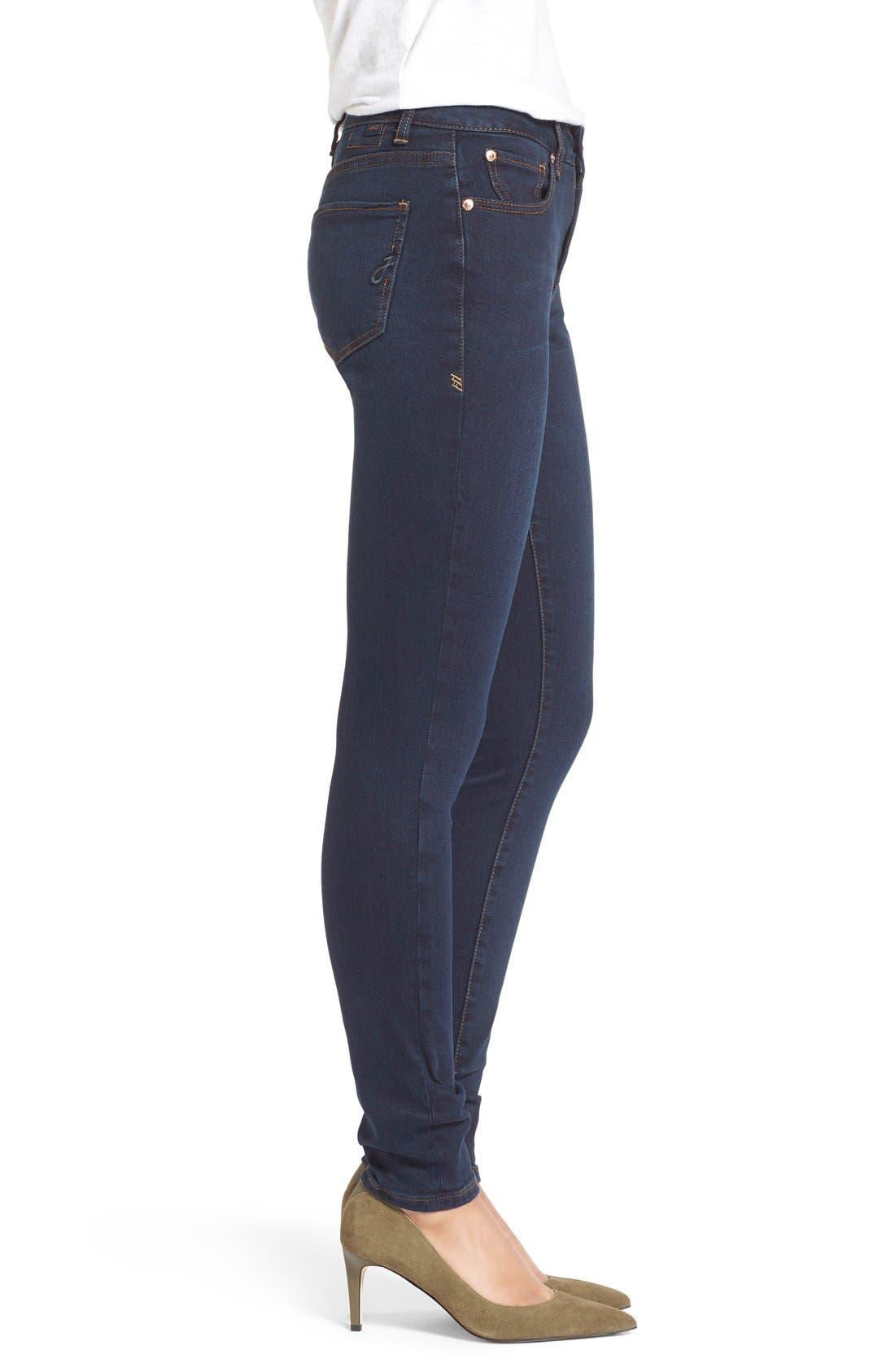 Alternate Image 3  - Jag Jeans'Westlake' StretchSkinnyJeans (Indigo Steel)