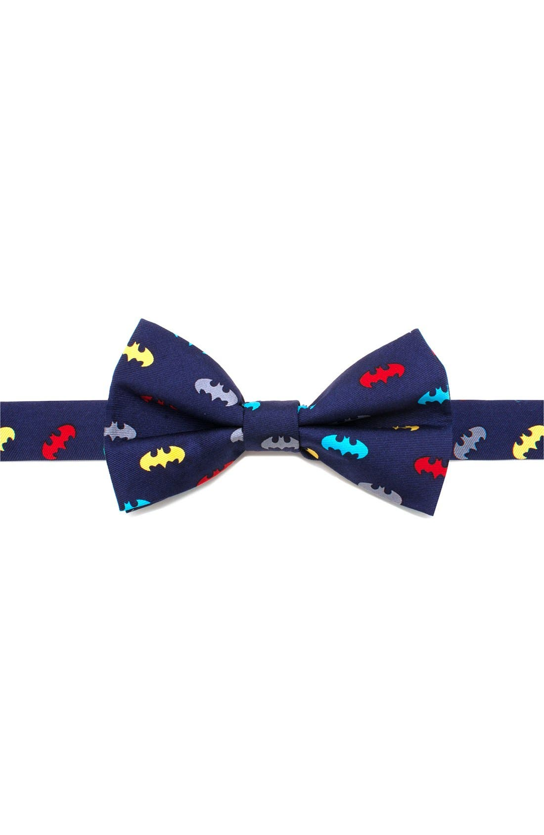 CUFFLINKS, INC. 'Batman' Silk Bow Tie