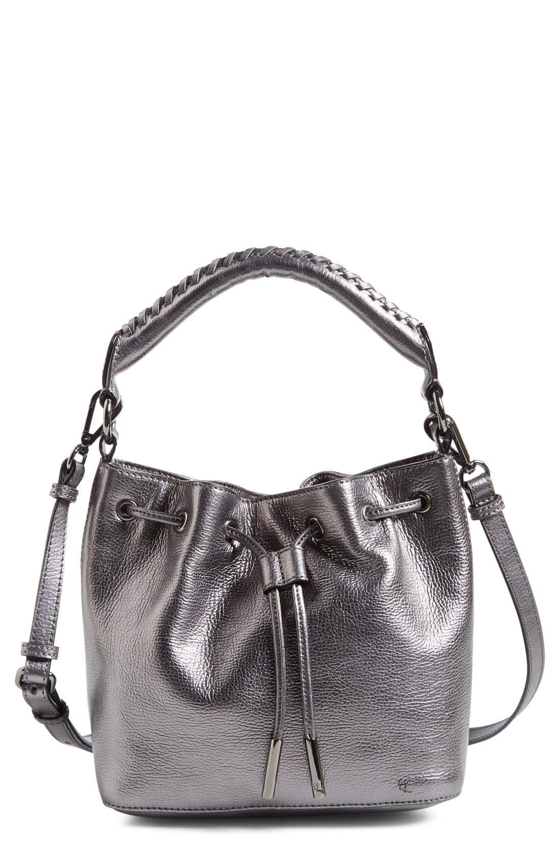 Alternate Image 1 Selected - Elliott Lucca 'Gigi Bon Bon' Leather Bucket Bag