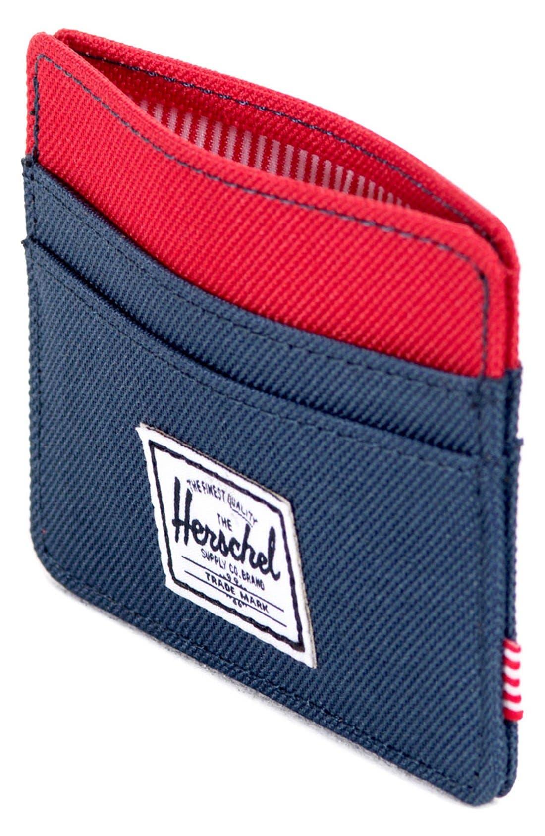 Alternate Image 3  - Herschel Supply Co. 'Charlie' Card Case
