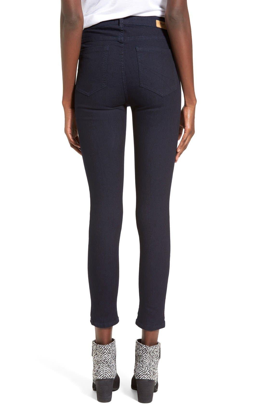 Alternate Image 2  - HARTDenim'Nic'Destroyed Skinny Crop Jeans