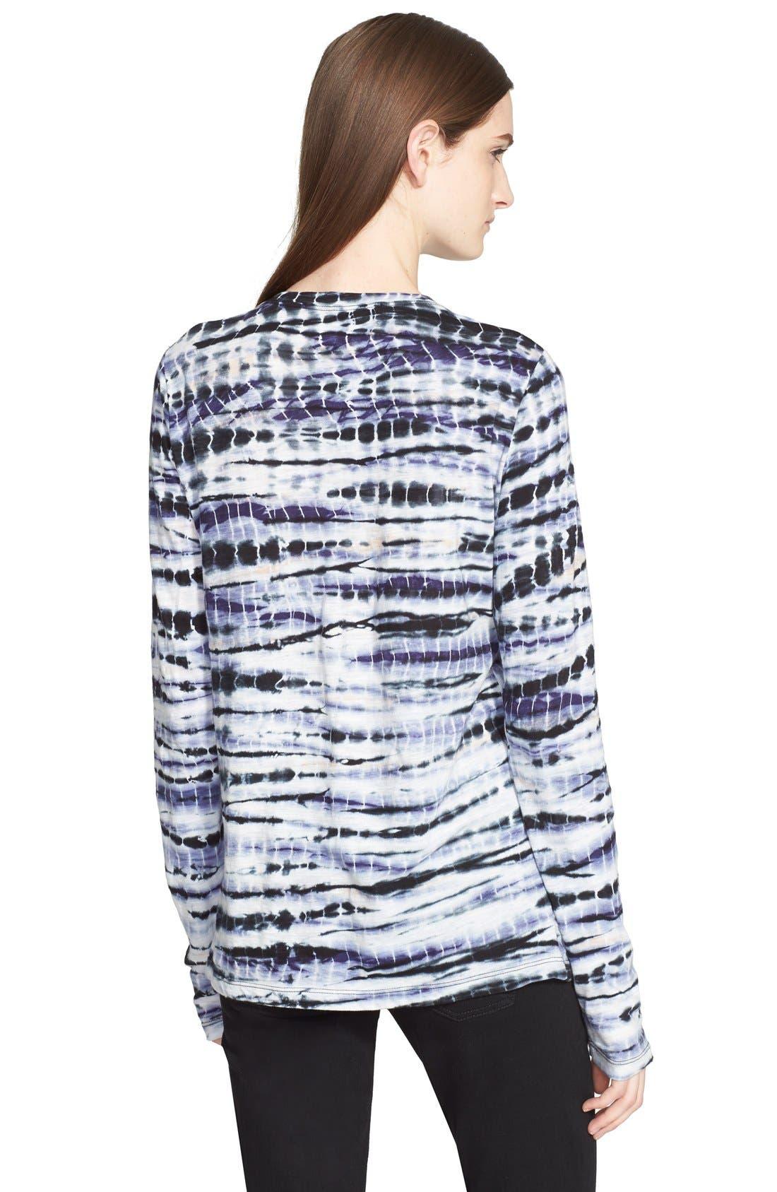 Alternate Image 2  - Proenza Schouler Tie Dye Tissue Jersey Long Sleeve Tee