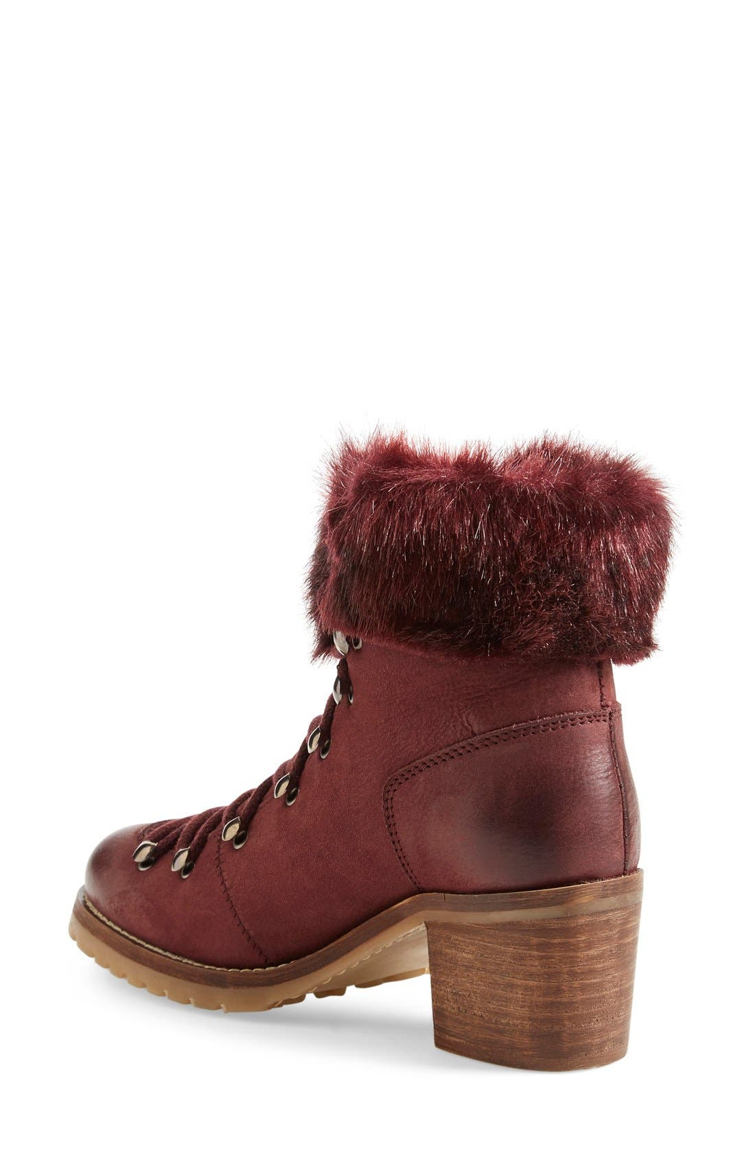 Alternate Image 2  - Steve Madden 'Huck' Lace-Up Bootie (Women)