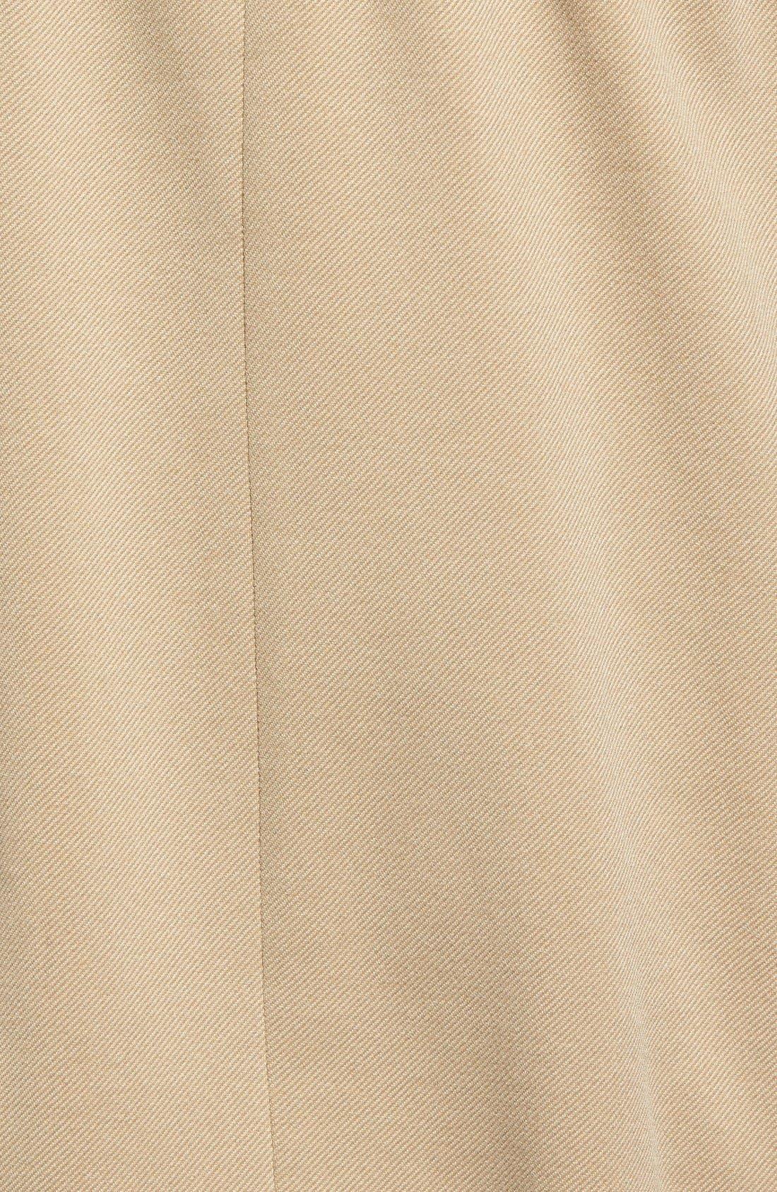 Alternate Image 5  - Vince CamutoFauxLeather Sleeve Asymmetrical Anorak