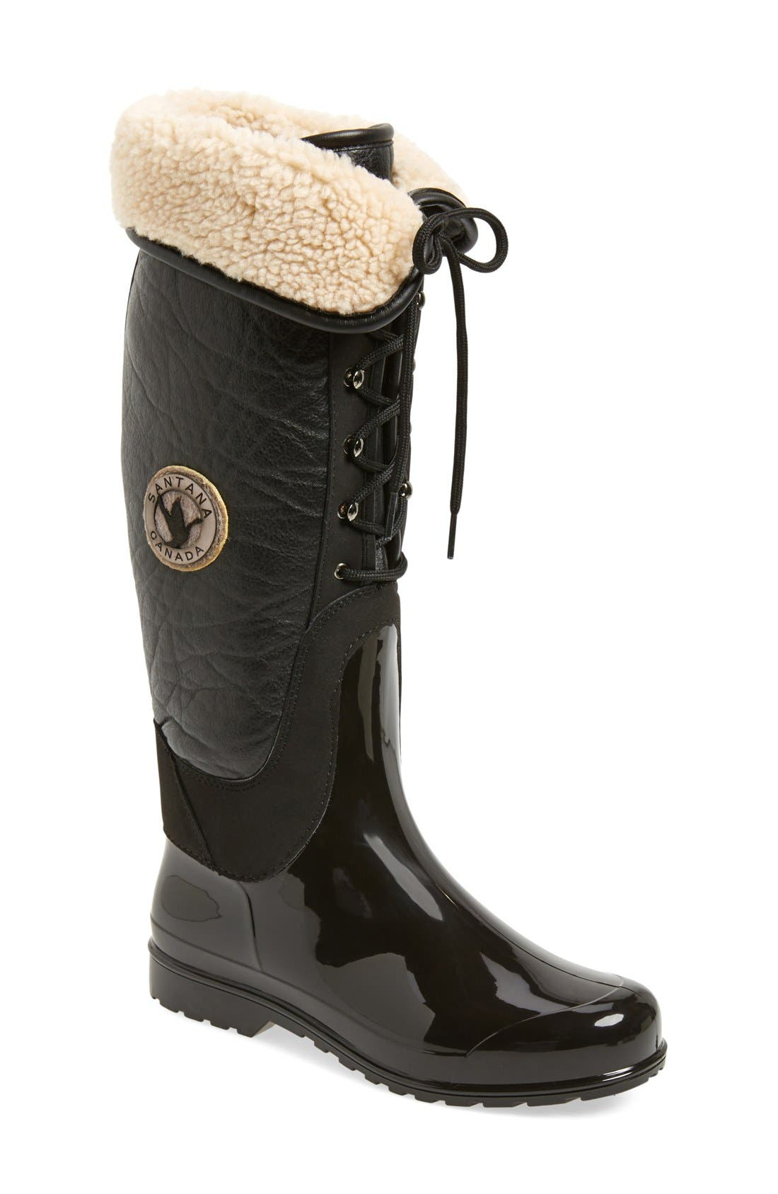 Alternate Image 1 Selected - Santana Canada 'Claudina' Waterproof Tall Boot (Women)
