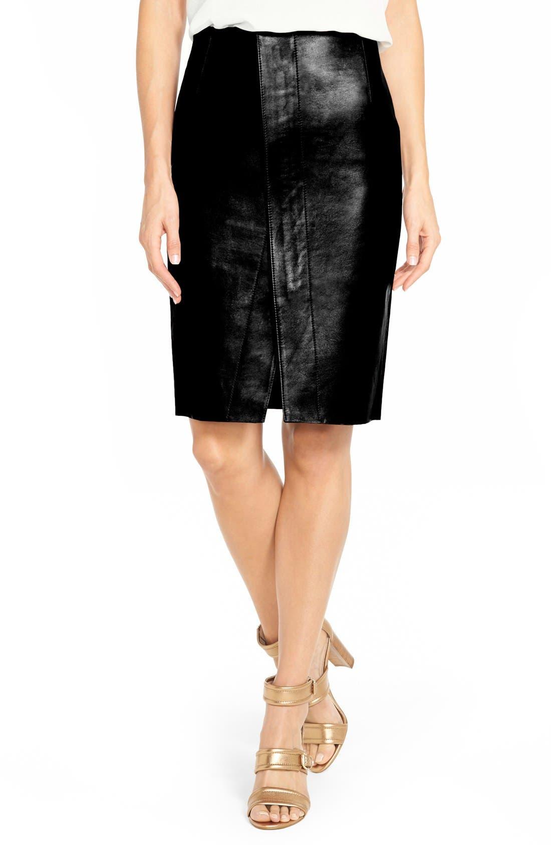 kobi halperin valerie leather envelope skirt nordstrom