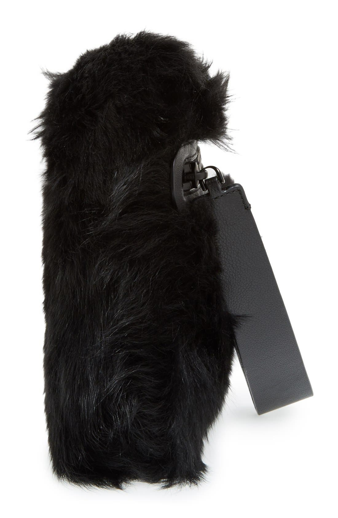 Alternate Image 5  - MARC BY MARC JACOBS Shearling Square Clutch