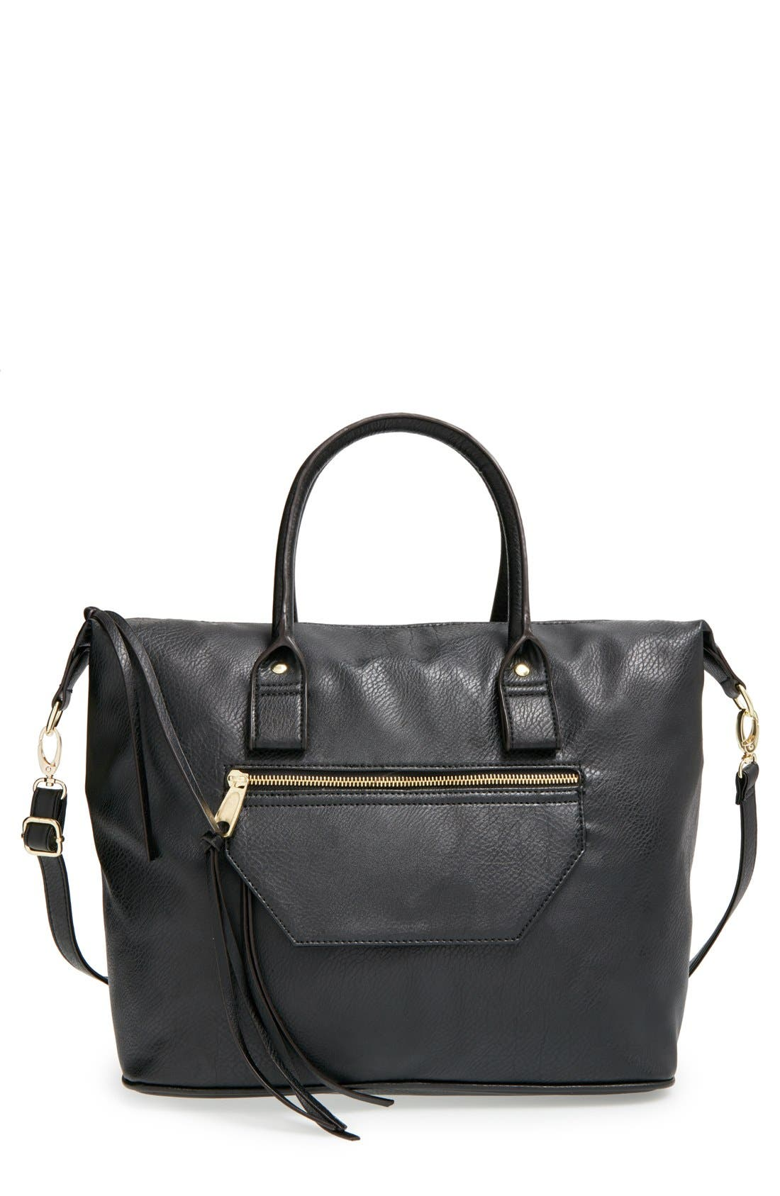 Alternate Image 1 Selected - BP. Faux Leather Satchel