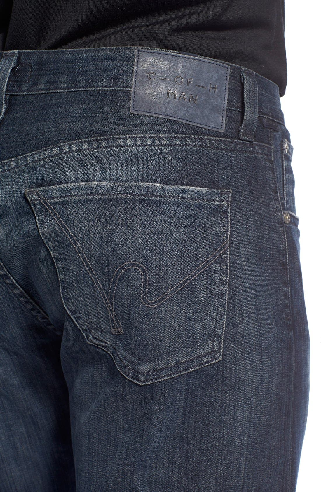 Alternate Image 4  - Citizens of Humanity Perfect Relaxed Straight Leg Jeans (Guitar)