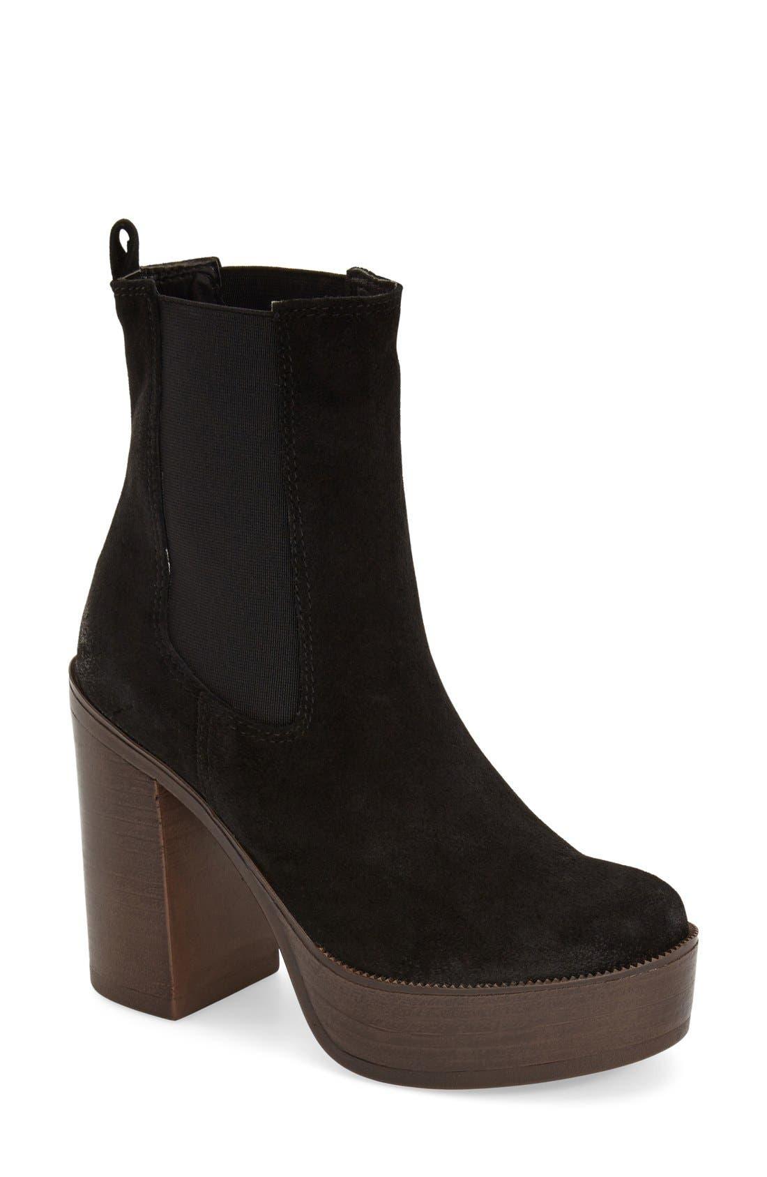Main Image - Topshop 'Holly 70s' Platform Boot (Women)