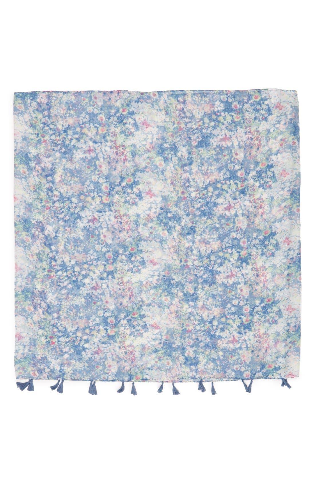 Alternate Image 2  - BP. Floral Print Infinity Scarf