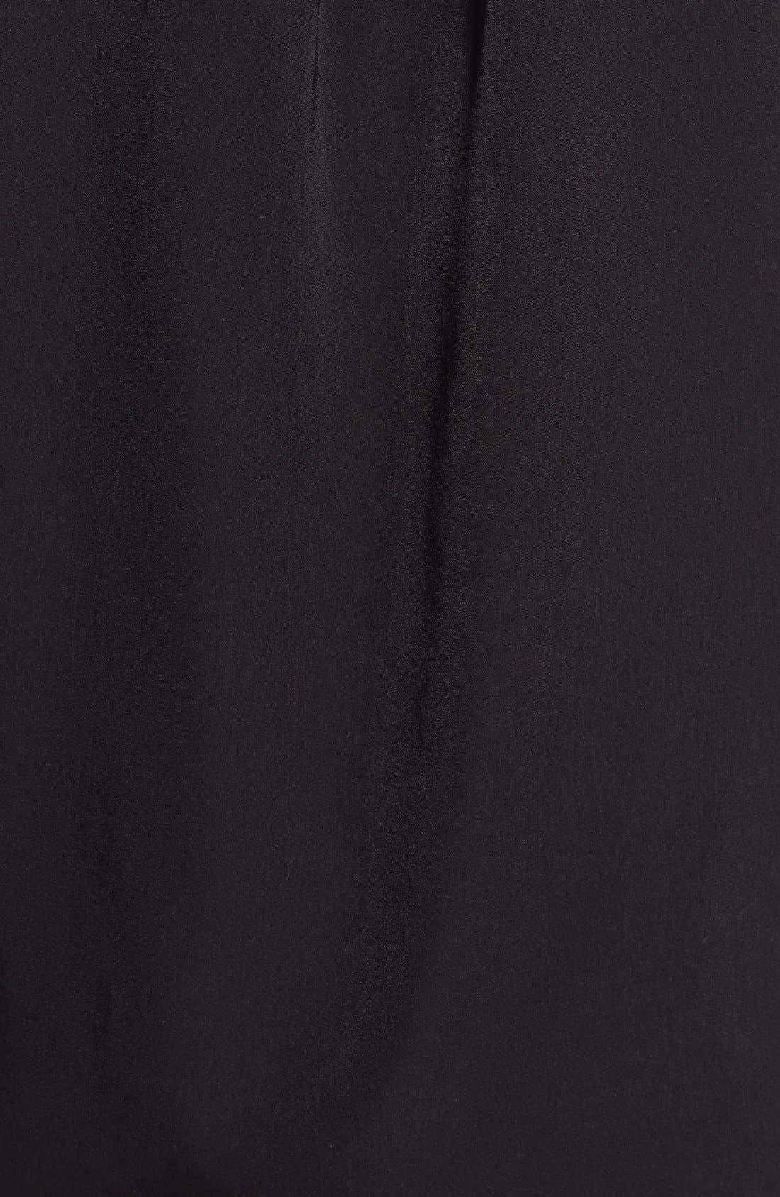 Alternate Image 5  - Pleione Sheer Inset V-Neck Blouse (Regular & Petite)