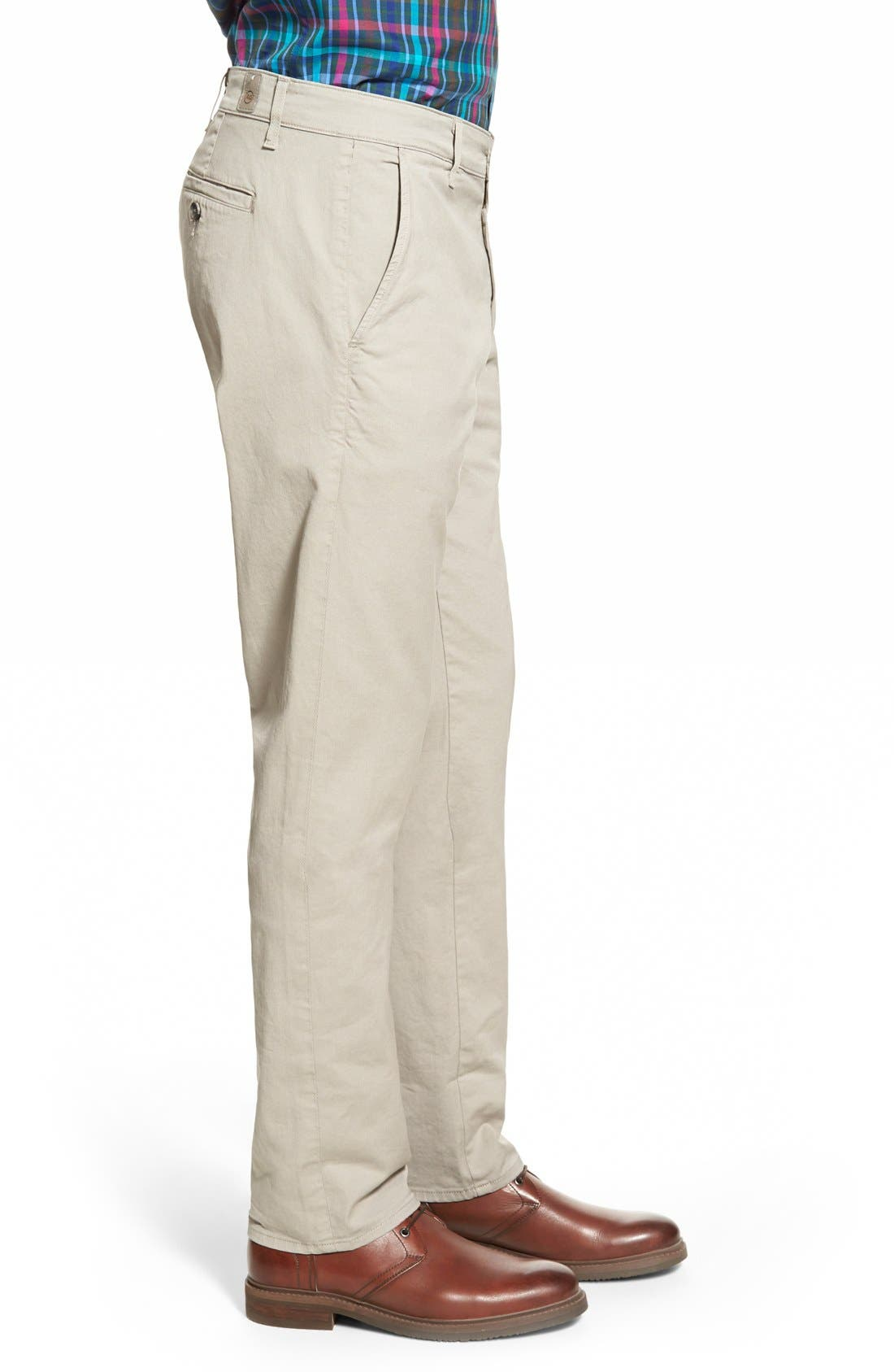 Alternate Image 3  - AG Slim Straight Leg Chinos